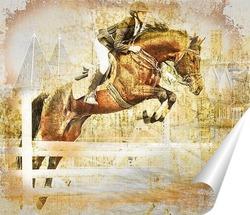 Постер Конный спорт