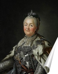 Постер Портрет Екатерины Великой