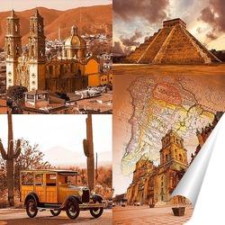 Постер Загадочная Мексика