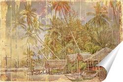 Постер Домик у моря