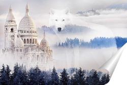 Постер Храм Базилика Сакре-Кёр