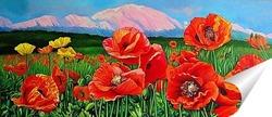 Постер Маки. Красная поляна Сочи.