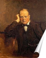 Постер Черчиль Уинстон