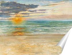 Постер Французские морские пейзажи