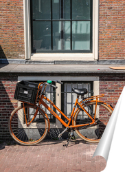 Постер Амстердамский велосипед