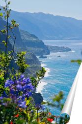 Постер Невероятно красивый вид на северное побережье острова Мадейра, Португалия