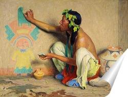 Постер Рисунок Качина