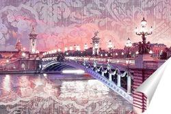 Постер Мост Александра III