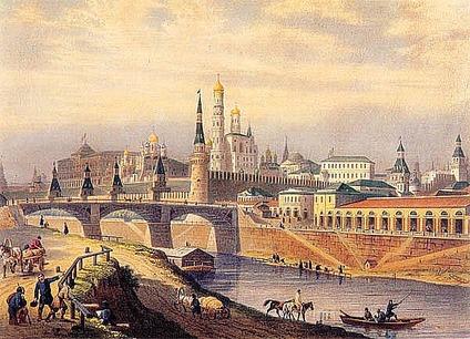 Постер Москва mos -04