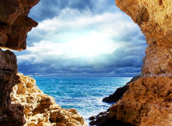 фотообои вид на море: