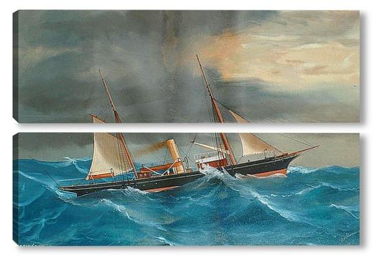 русские парусные лодки
