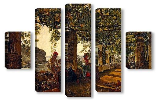Краткое описание творчество художника щедрина и его знаменитые картины