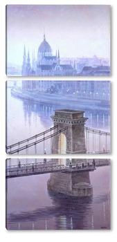 Модульная картина Будапешт