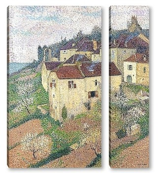 Модульная картина Дом Сен Сирк Лапопи