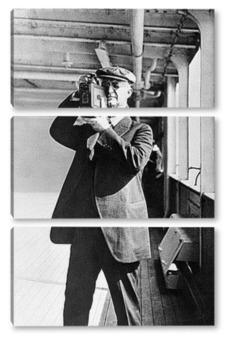 Модульная картина George Eastman-2