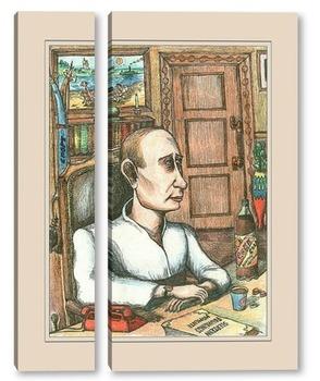 Модульная картина Путин