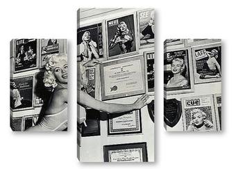 Модульная картина Jayne Mansfield-5