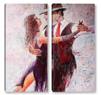 Модульная картина Танго