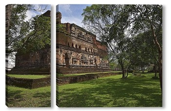 Модульная картина Полоннарува. Шри Ланка. Древняя столица.