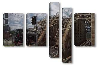 Модульная картина Варшавское шоссе