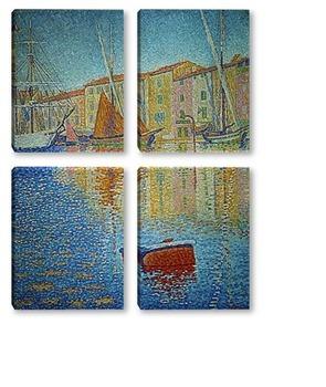 Модульная картина Signac-1