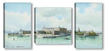 Модульная картина Стокгольмский дворец
