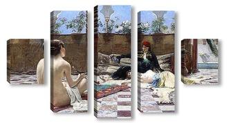 Модульная картина Турецкие женщины
