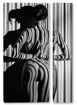 Модульная картина Strips