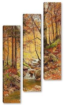 Модульная картина Осень