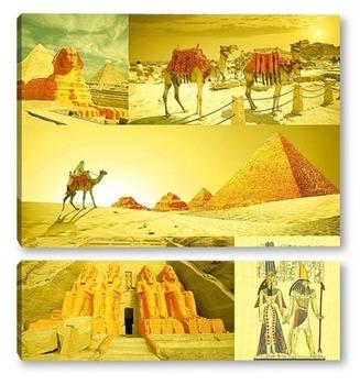 Модульная картина Таинственный Египет