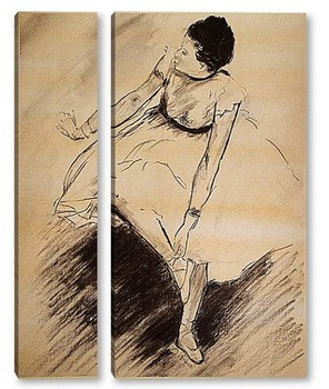 Модульная картина Танцовщица