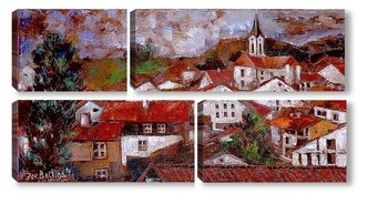 Модульная картина Шёнау. Нижняя Бавария