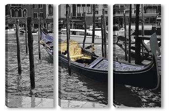 Модульная картина Венецианская гондола