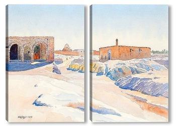 Модульная картина Сцена из Туниса