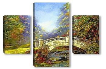 Модульная картина Мост