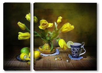 Модульная картина О чем поют весенние тюльпаны?