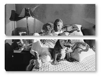 Модульная картина Giorgio Armani-01