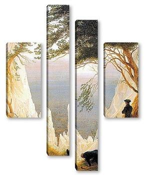 Модульная картина Меловые Скалы