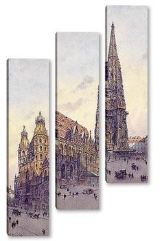 Модульная картина Церковь Св. Стефана в Вене