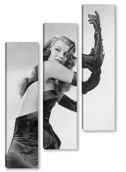 Модульная картина Rita Hayworth-08