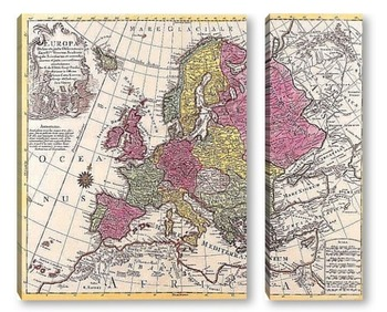 Модульная картина Европа_02