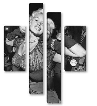 Модульная картина Jayne Mansfield-1-1