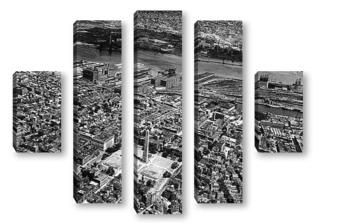 Модульная картина Boston044