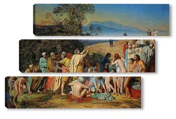 Модульная картина Явление Христа народу