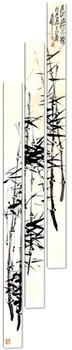 Модульная картина Бамбук