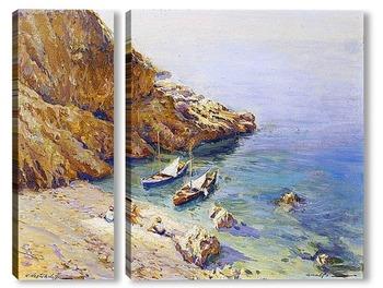 Модульная картина На пляже Амалфи