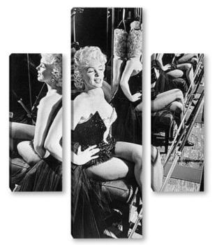 Модульная картина Monroe-70