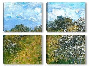 Модульная картина Весна