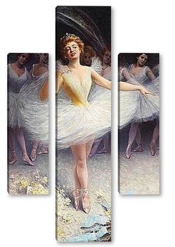 Модульная картина После выступления балерины
