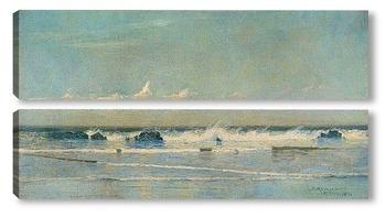 Модульная картина Морской пейзаж, Сент-Ив, 1890